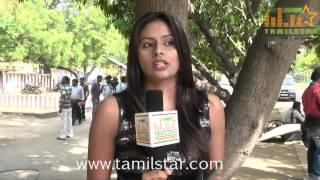 Shruti Speaks at Iyakkunar Shooting Spot