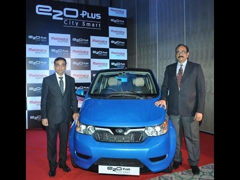 महिंद्रा ची नवी इलेक्ट्रिक कार .. अवघ्या ७० पैशात चौघे जण करा १ किलोमीटरचा प्रवास