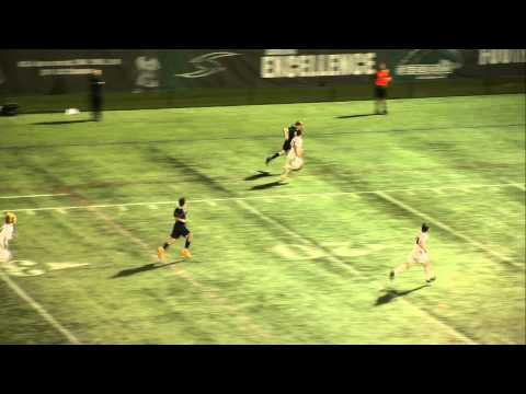 Stevenson Men's Soccer vs Hood Highlights