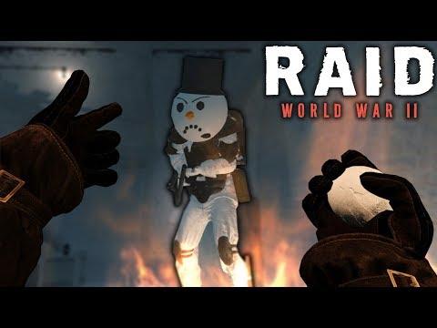 RAID WW2: Новогодние Моды! Эльфы, Снеговики и Многое Другое!