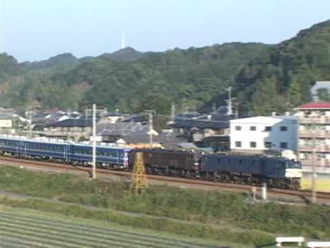 EF58重連 2004.11.21 7:45 掛川-菊川
