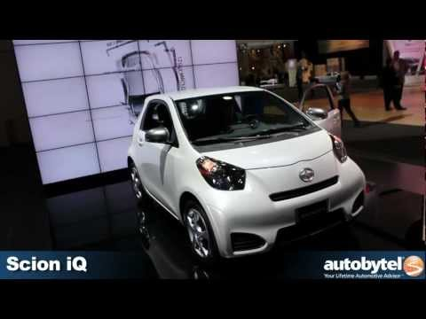 Scion iQ at the 2012 Detroit Auto Show
