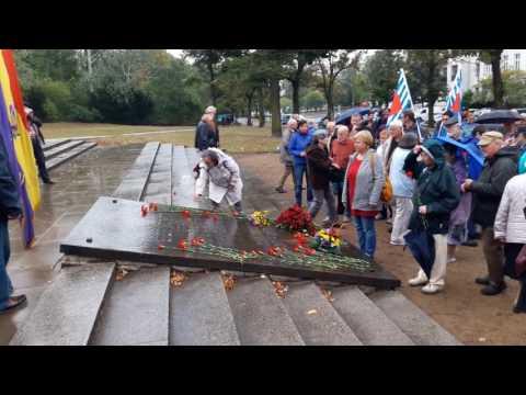 80. Jahrestag der Internationalen Brigaden