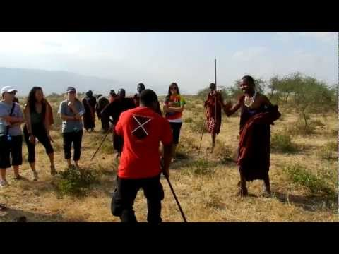 Bwana Simba Maasai Stick Fight