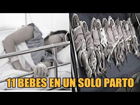 Video Da A Luz A Una Cantidad Bebés En Un Mismo Parto Pero a nadie se le ocurrió que saldrían 11 y download in MP3, 3GP, MP4, WEBM, AVI, FLV January 2017