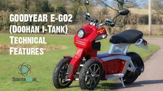 5. SLUK | Goodyear eGo2 (Doohan iTank) technical features