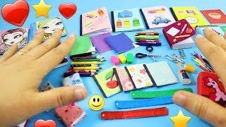 Video Okula Dönüş DIY: %100 Gerçek Minyatür Okul Malzemeleri [GERÇEKTEN ÇALIŞIYOR] MP3, 3GP, MP4, WEBM, AVI, FLV November 2017