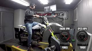 9. How Much Power Does The 2019 Husqvarna FC 250 Make?