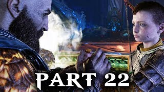 God of War Gameplay Walkthrough Part 22 - THE BLACK RUNE (PS4 2018)