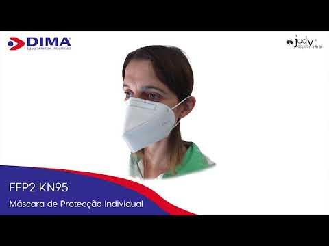 Máscara FFP2 KN 95