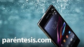 Sony Xperia Z1, review en español