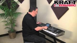 Kraft Music - Korg Pa3X Arranger Workstation Keyboard Demo with Steve McNally