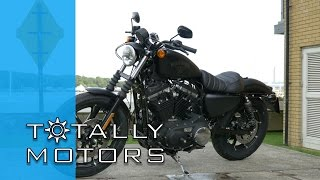 10. Harley Davidson Iron 883 vs Street 750 - Road Test - HD | Totally Motors
