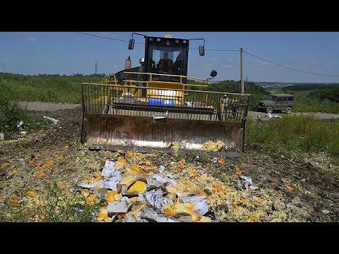 Ρωσία: Καταστροφή εισαγόμενων τροφίμων – Αντιδρούν οι πολίτες