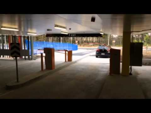 Magnetic Parking Pro boom gates at an Australian university