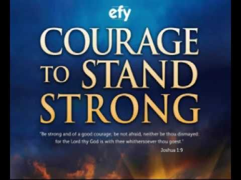COURAGE TO STAND STRONG - EFY