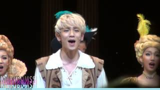 Download Lagu [HD fancam] 140325 Musical The Three Musketeers Curtain call - SHINee KEY (encore) Mp3