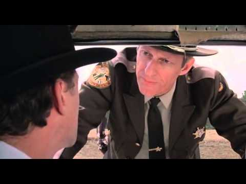 Hazel gets pulled over in Wise Blood