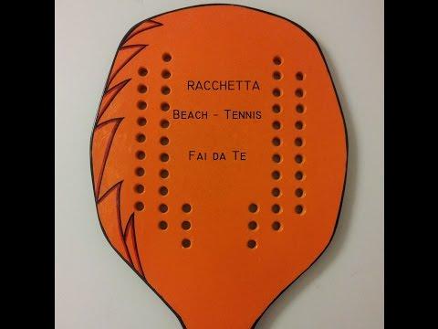 Racchetta beach tennis - Fai da Te