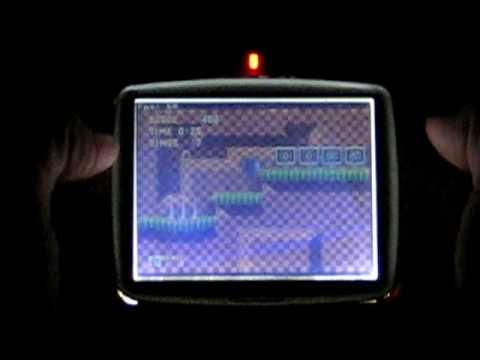 Sonic The Hedgehog - GP32 DrMD Overclocked