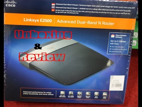 Linksys E2500 N600 Dual Band Router Unboxing/Reviews in /Hindi