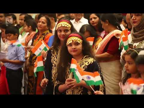 The Embassy of India in Muscat celebrated the country's 69th Republic Day at its premises on Friday, January 26. Video: Shabin E.