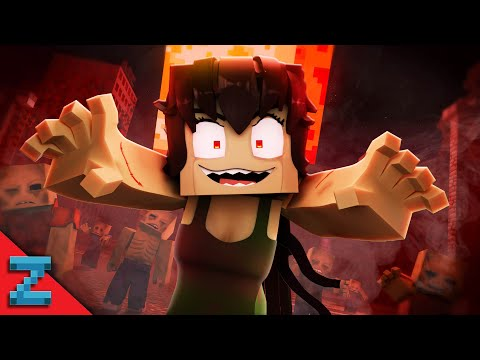 """Zombie Girl 🧠 (Minecraft Music Video Animation) """"Macabre Rotting Girl"""""""