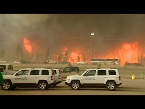 Καναδάς: Εκτός ελέγχου η μεγάλη πυρκαγιά στην επαρχία Αλμπέρτα