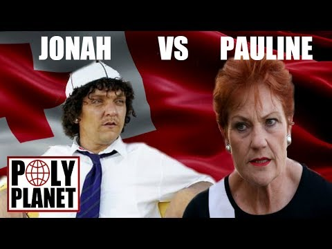 Jonah from Tonga vs Pauline Hanson