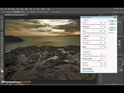Enhancing landscape photographs with Photoshop CS6 and Shadow Highlight