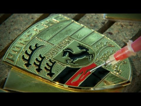 0 Manufacturing the Porsche Crest | Video