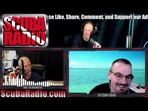 Live studio video feed for ScubaRadio 1-2-21.