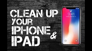 Video Clean Up Your iPhone or iPad IN UNDER 10 MINUTES!!! MP3, 3GP, MP4, WEBM, AVI, FLV November 2018