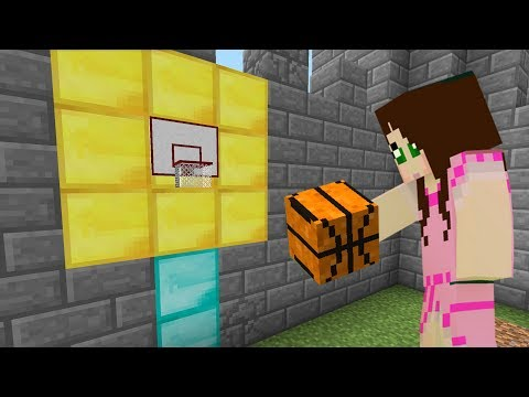 Minecraft: BASKETBALL GAME CHALLENGE [EPS9] [50]
