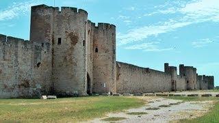 Aigues-Mortes France  City new picture : Aigues-Mortes, Languedoc-Roussillon, Camargue, France [HD] (videoturysta)