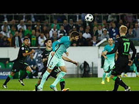 Borussia Moenchengladbach vs Barcelona 1-2 Goals & Highlights 28/09/2016