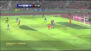Malaysia 0-2 Vietnam 11/9/2012 [Highlights&Goals]