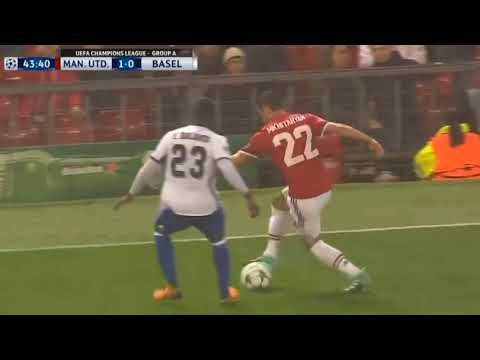 Manchester United vs Basel 3 0   English Commentary All Goals & Highlights UCL 12 September 2017