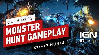 Outriders: 11 Minutes of Monster Hunt Co-op Gameplay - IGN First by IGN
