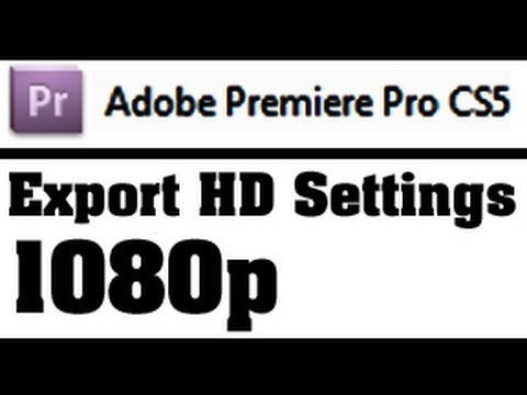 yt:quality=high - In this video, I cover the settings used for exporting a project video out of Adobe Premiere Pro with high quality high definition settings. This should be s...