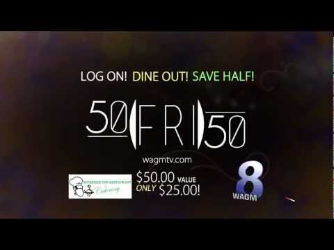 50-50 Fridays - River Side Restaurant - 4-5-13
