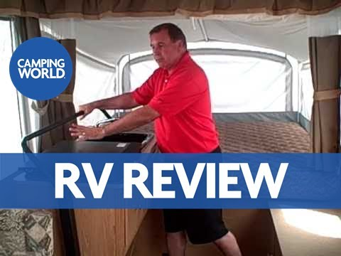 popuptrailer - Jim Snyder shows us around the new Coleman Utah Pop-up Camper at American RV. American RV is a West Michigan RV dealer that sells fifth wheels, travel traile...