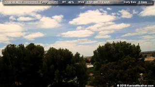 18 January 2015 - North Facing WeatherCam Timelapse - KanivaWeather.com