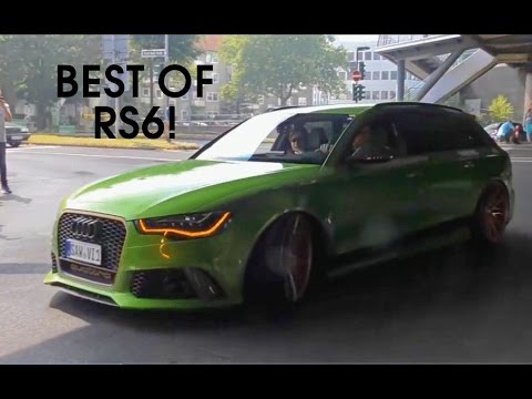 AUDI RS6 AVANT C7 SOUNDS - ABT RS6-R, RS6 w/ Milltek, Akrapovic & ASG Exhaust & More!