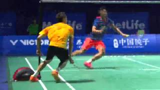 Video Lee Chong Wei defeated Lin Dan!! Thaihot China Open 2015 in Semi Finals MP3, 3GP, MP4, WEBM, AVI, FLV Mei 2018