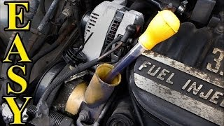 8. Power Steering Fluid Change QUICK and EASY