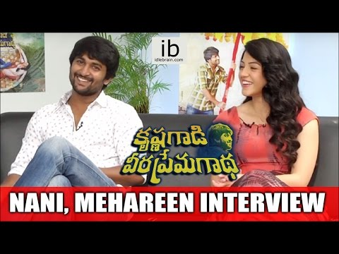 Nani Mehareen Exclusive Interview about KGVGaadha Movie