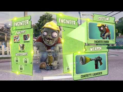 這次的殭屍居然帶著機槍和火箭筒打過來啦!!