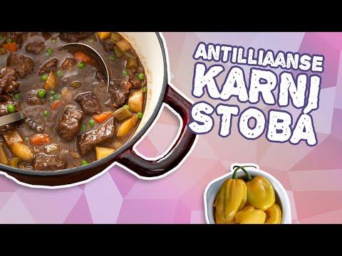 Karni Stobá - Antilliaanse stoofschotel van rundvlees - RECEPT