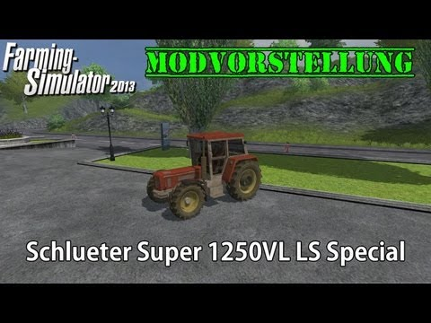 Schluter Super 1250VL LS Special v1.0 MR